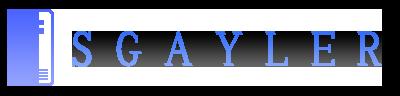 SGAYLERのロゴ画像